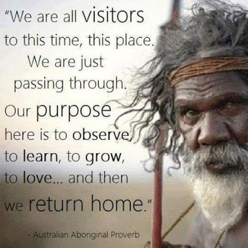 cosmic-rebirth: Aboriginal wisdom.