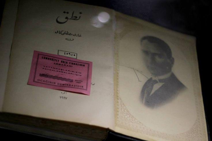 Mustafa Kemal ATATÜRK'ün ilk basılan Nutuk'u..