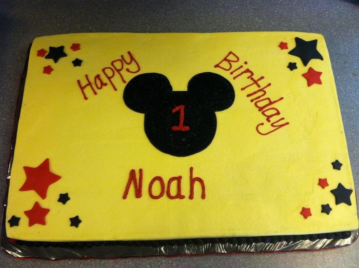 Mickey Mouse 14 Sheet Cake Mickey Mouse sheet cak...