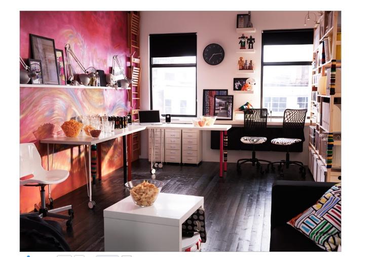 Ikea catalog flexible teen room