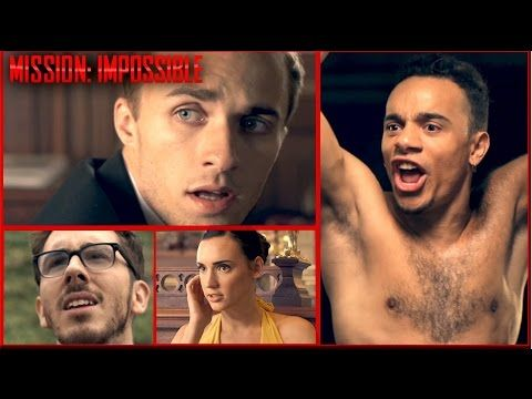 MISSION: IMPOSSIBLE vs MISSION: PAS POSSIBLE  & squeezie et mister v - #AntoineVialle, #Dan, #Kemar, #MisterV, #Natoo, #Squeezie, #WilliamNkaké - http://newsmovies.fr/mission-impossible-vs-mission-pas-possible-squeezie-et-mister-v/