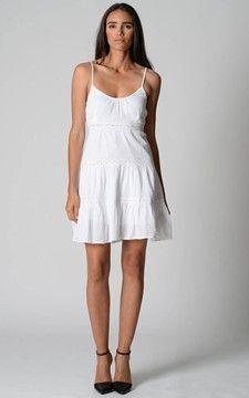 1000  images about Plain white dress on Pinterest  Terrace Denim ...