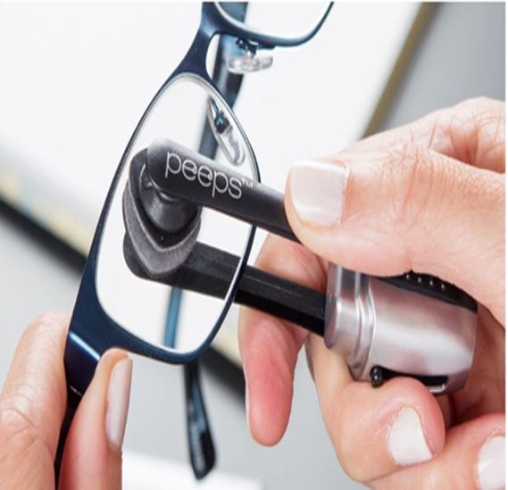 Every Geek needs to keep their spectacles in pristine condition. microfiber tech that cleans all glasses, dry-clean technology, substance...