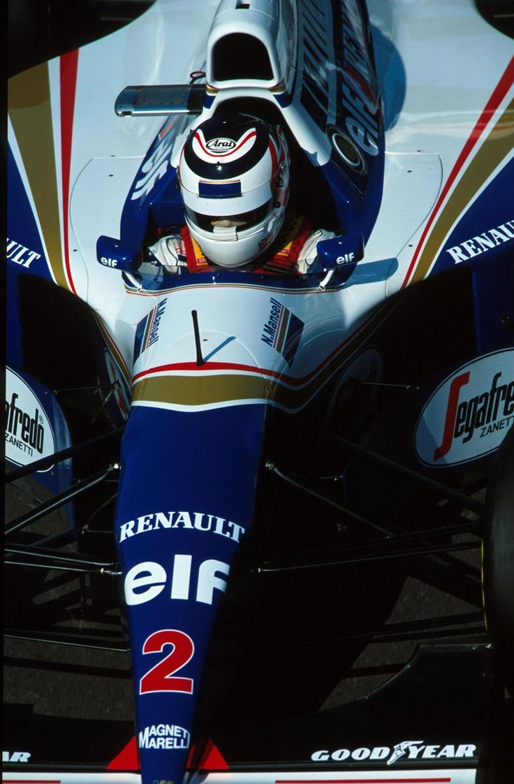 Nigel Mansell, Williams FW16 - Renault RS6 3.5 V10 (1994)