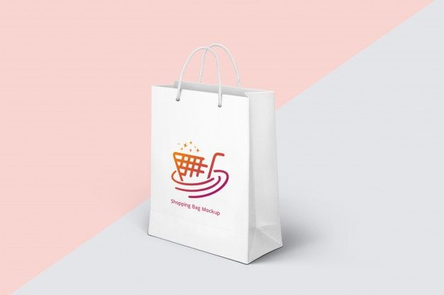 Download Bag Mockup Design Premium Psd Freepik Psd Mockup Paper Shopping Bag À¹ƒà¸™à¸› 2020