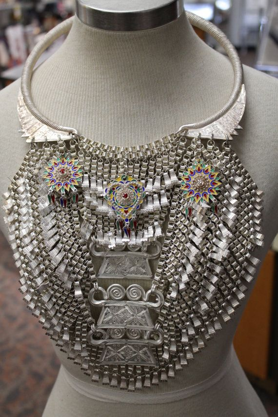 33 Best Hmong Necklace Hmoob Xauv Images On Pinterest