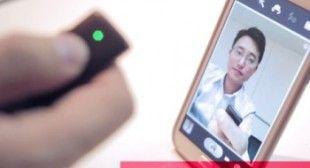 Bluetooth-Fernauslöser für Kameras von Smartphones und Tablets