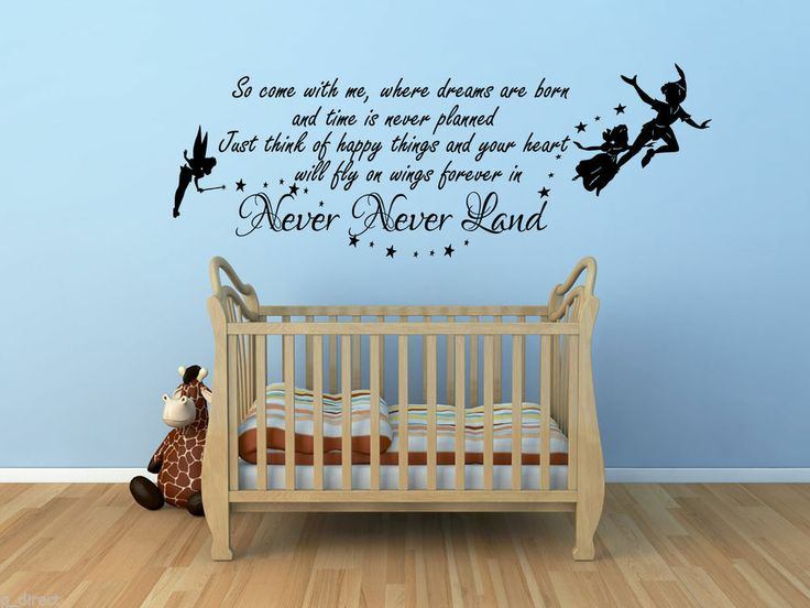 49 best Peter Pan Nursery Ideas images on Pinterest | Child room ...