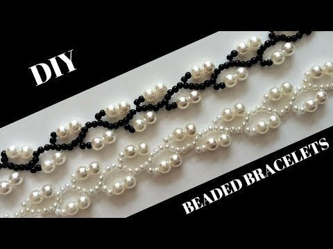 diy easy swarovski bicone necklace| beaded necklace tutorial |how to make necklace|handmade jewelery - YouTube