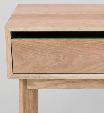 Lukas Bedside Table from Curious Grace
