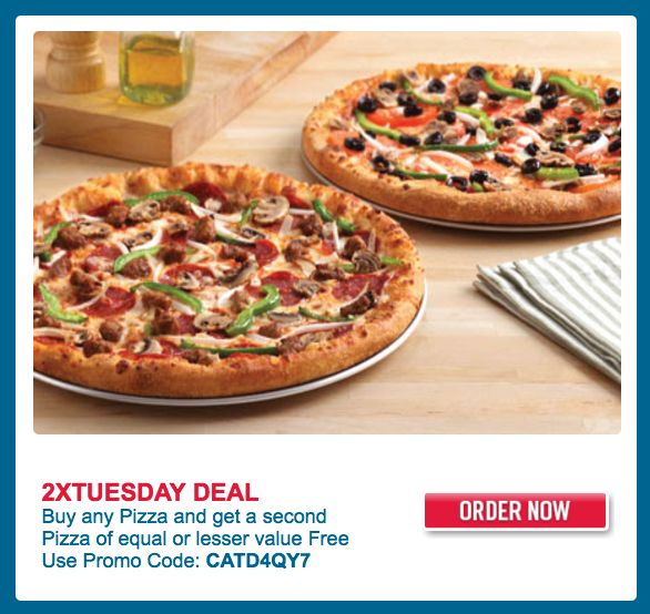 Dominos Pizza Canada Offers:Buy any Pizza and Get a Second Pizza of Equal or Lesser Value FREE & More Deals http://www.lavahotdeals.com/ca/cheap/dominos-pizza-canada-offersbuy-pizza-pizza-equal-lesser/138772?utm_source=pinterest&utm_medium=rss&utm_campaign=at_lavahotdeals