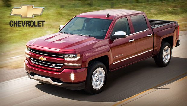 2018 Chevrolet Silverado Large Pickup Truck With V8 Engine And