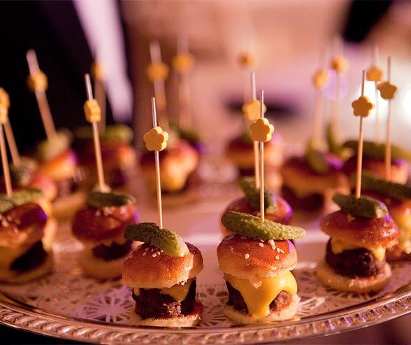 Evening Wedding Reception Food Ideas: 17 Best Images About Food & Beverage Wedding Ideas On