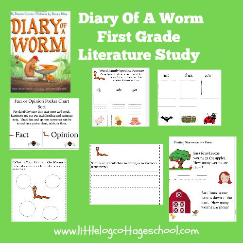 Diary Of A Worm: FREE Diary Of A Worm Literature Study With Links To