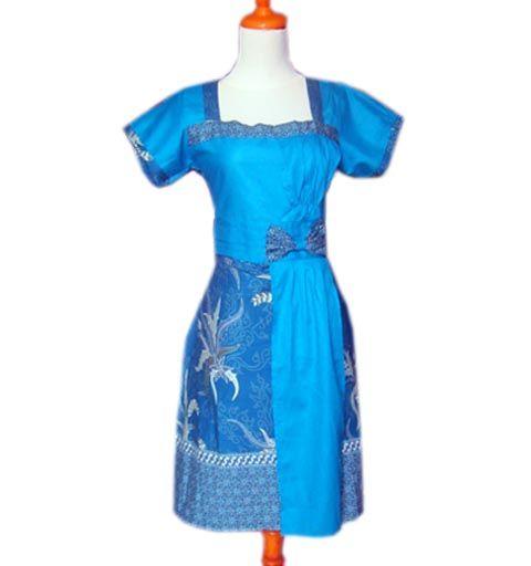 Dress batik wanita modern DBD02