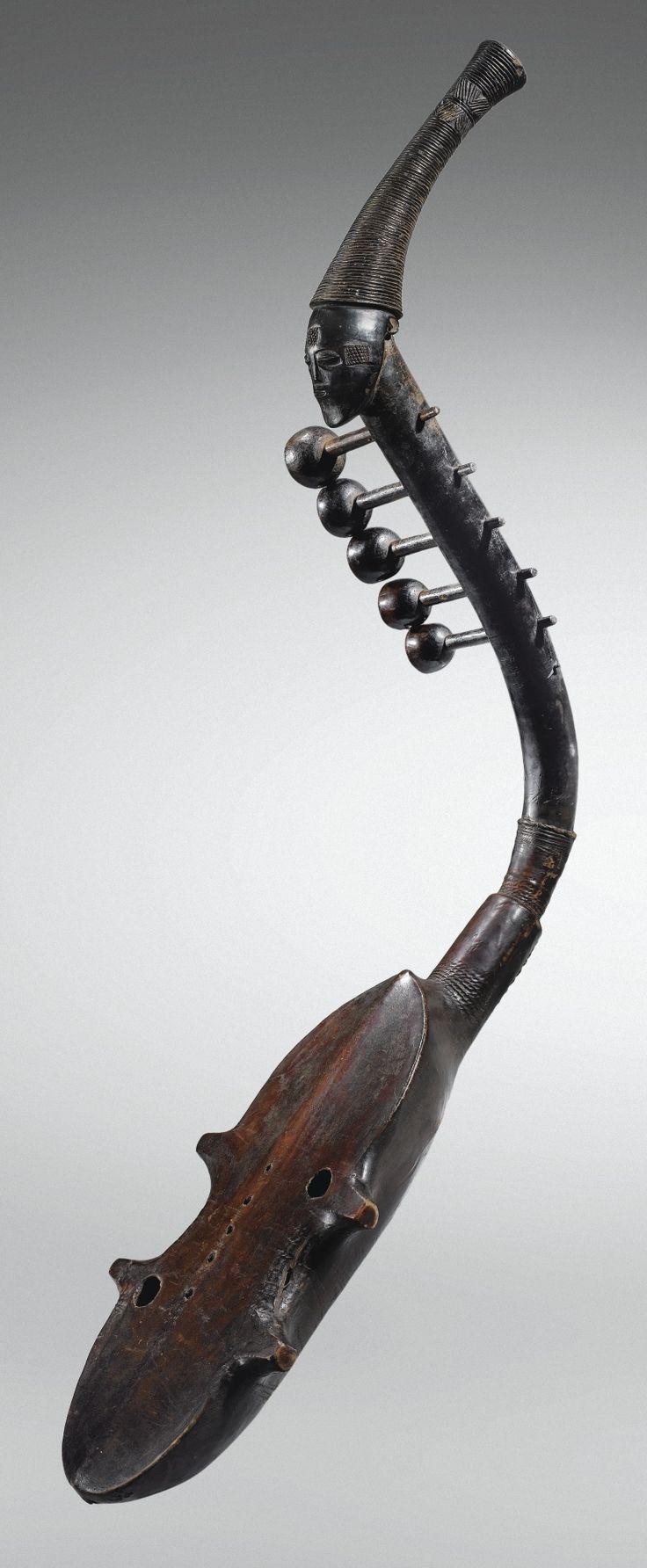 Harpe anthropomorphe, Zande, République Centrafricaine | Lot | Sotheby's