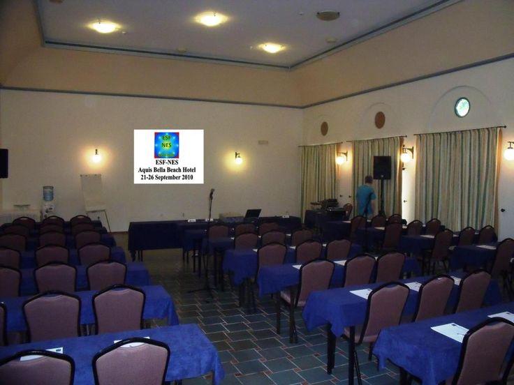 Conference facilities @ Aquis #Greece
