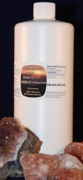 Ormus Minerals Gold C-11 Infusion 32 oz SALE!!! $75