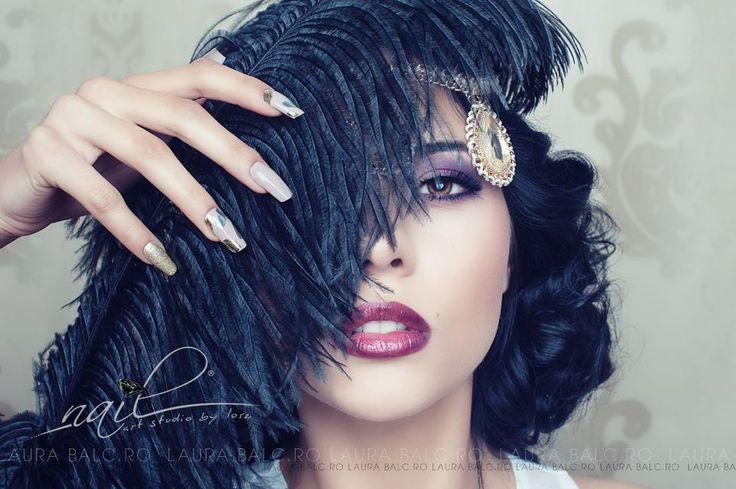 Photo/Creative/Edit: Laura Balc  Assistant Photography: Codrut Bordeanu  Model: Paula Vasiu  Nails: Nail Art Studio by Lore Hair: Bebe Veja Make-up: Deea Balgaradean Accesories: Dee StyleDesign