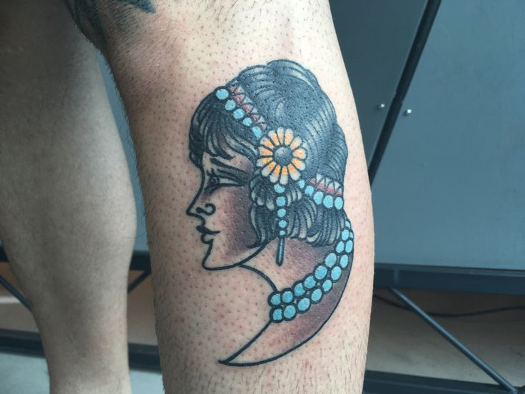 woman tattoo, calf tattoo, 77 ink