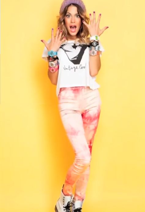 Martina Stoessel! #fashion #girl
