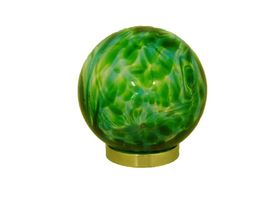 Hand Blown Glass Green Friendship Ball. The offering of a Friendship Ball is an old tradition symbolising a deep friendship between two people. The ball is round and therefore has no beginning and no end.