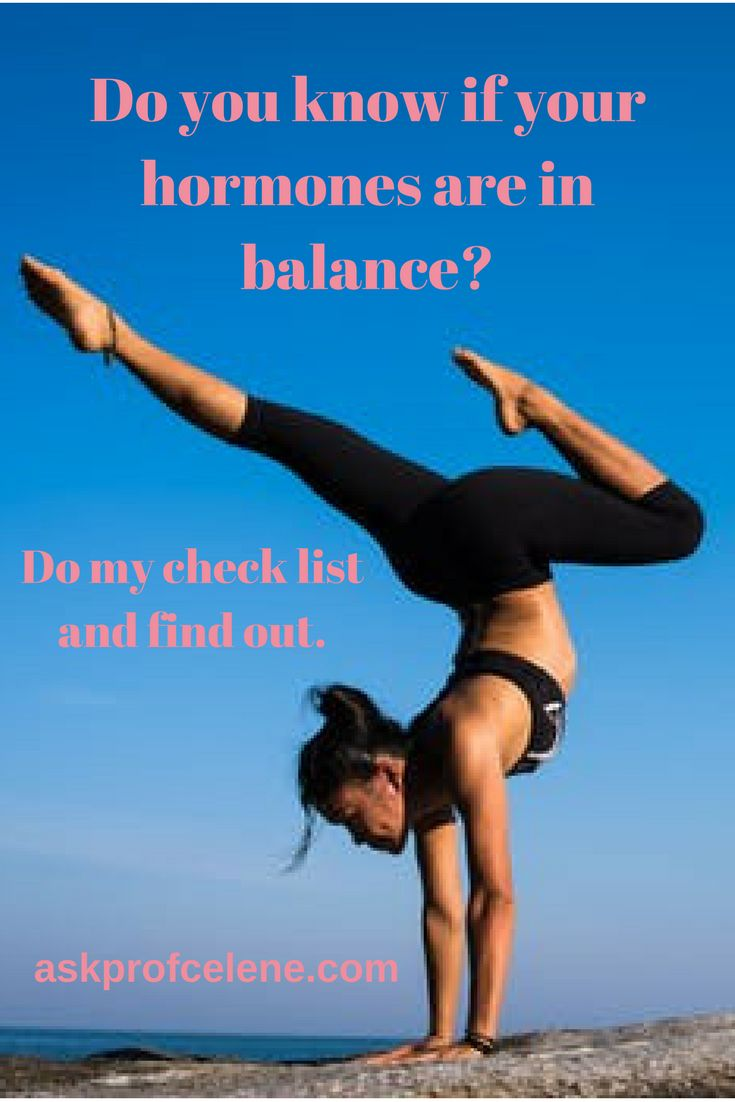 Hormonal balance is vitally important for feeling your best. Do my check list  to find out if you might need a little tweak