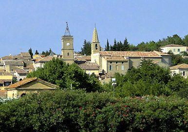Saint-Quentin la Poterie, village de l'uzège