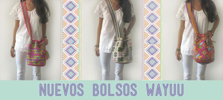 Los bolsos Wayuu de las celebrities que tanto nos estabáis reclamando...¡Vuelven a Viloop! Para ver todos los colores veraniegos y divertidos que hemos traído. #wayuu #bolsoswayuu