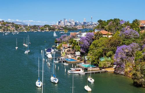 Early summer in Sydney, Australia | Best winter sun destinations | http://www.weather2travel.com/blog/best-winter-sun-destinations.php #travel #weather