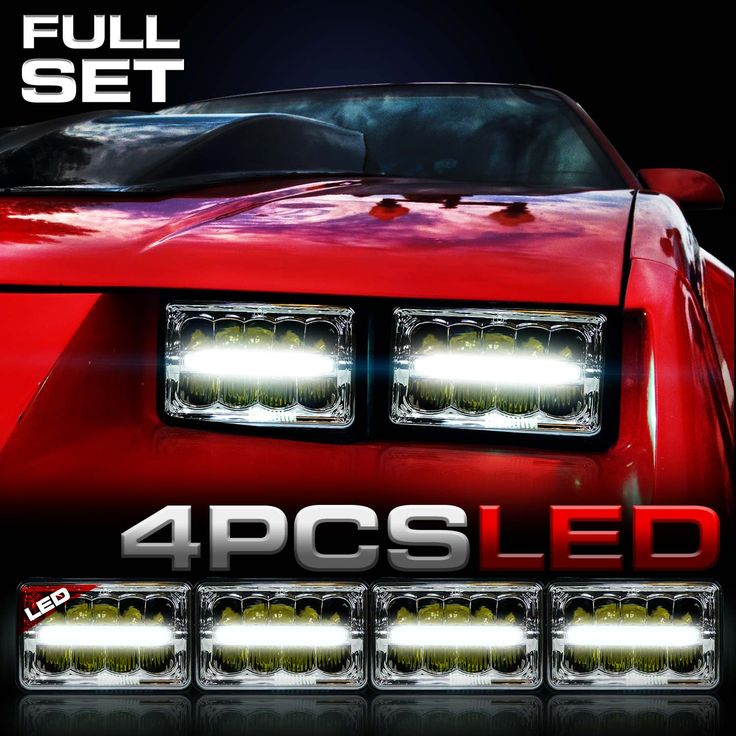 H6014 H6052 H4651 H4642 LED Headlights that fit the Camaro