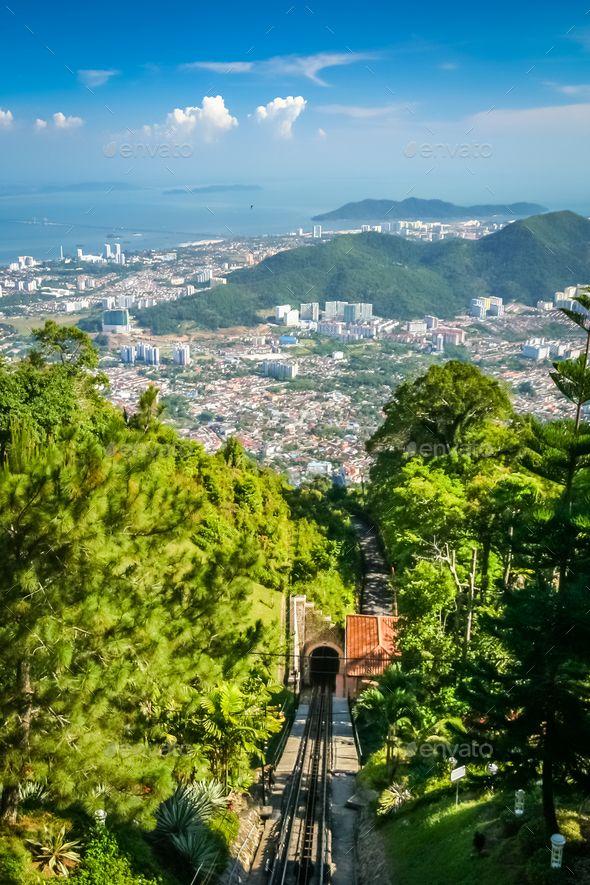 Penang funicular in Penang - Stock Photo - Images Download here : https://photodune.net/item/penang-funicular-in-penang/20094435?s_rank=212&ref=Al-fatih