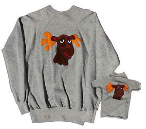 Captain Kangaroo | Captain Kangaroo Moose Sweater Lot from Estate | eBay