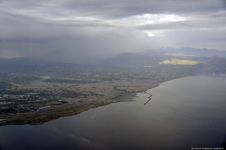 Takeoff from Heraklion Crete