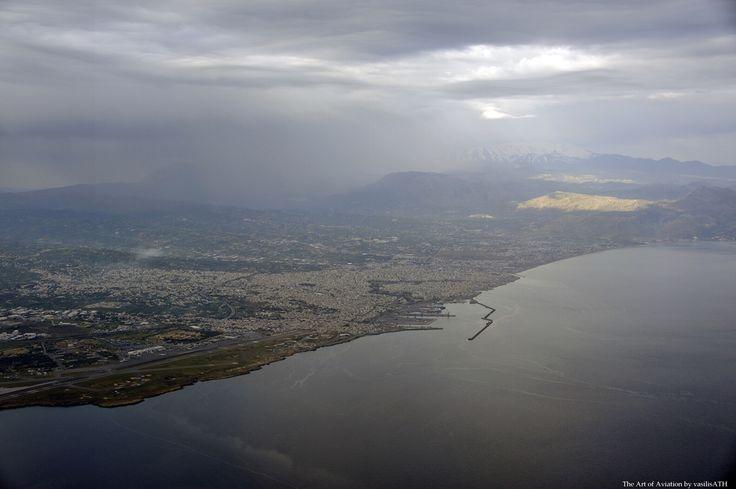 Takeoff from Heraklion Crete