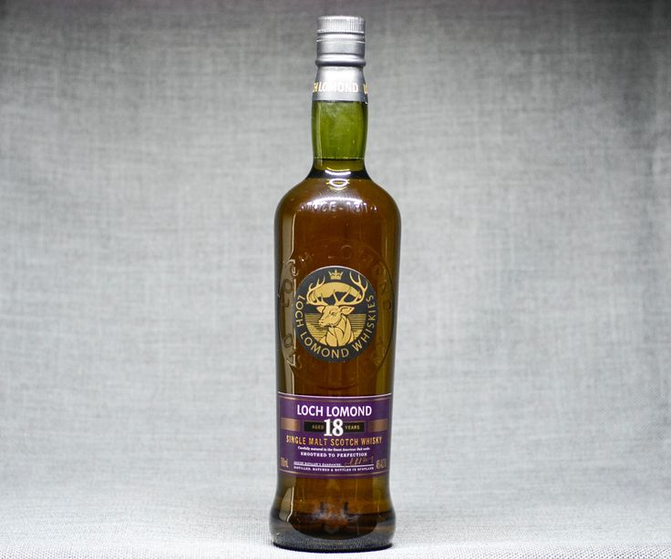 Loch Lomond 18 Single Malt Scotch Whisky Floral, Sweet, Fruity $110   Click to find!