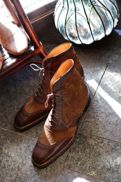 SPIGOLA Bespoke Spectator Boots