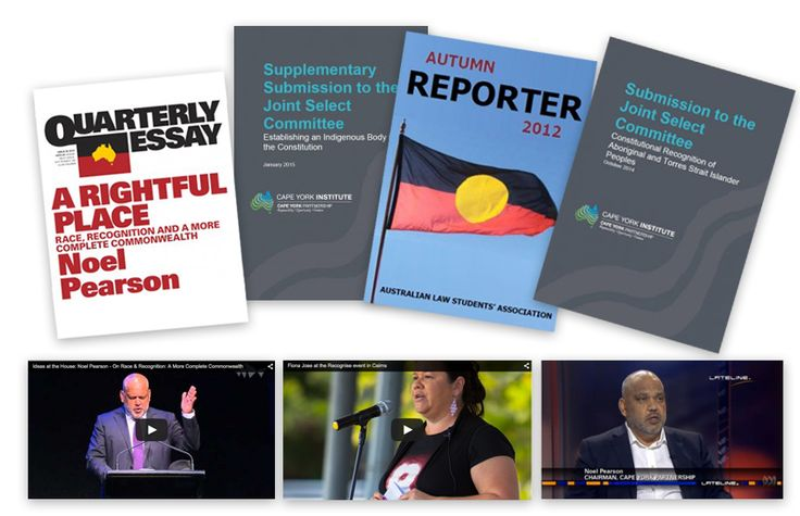 .@CapeYorkPart has launched a new resource page on Constitutional recognition and reform: http://capeyorkpartnership.org.au/cogs-of-change/recognition-and-reconciliation/recognition-and-reconciliation-resources-submissions-articles-speeches-and-more/