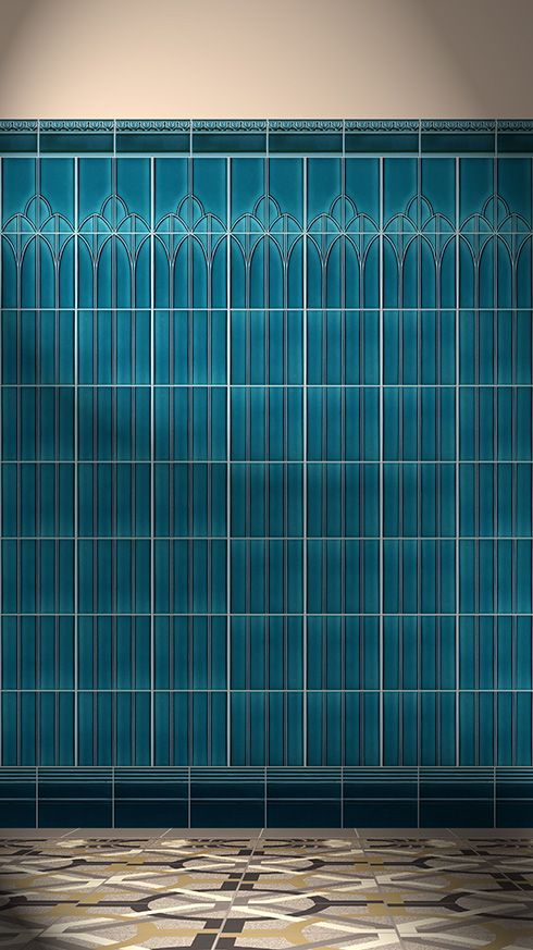 YES.  Golem tile - German reproduction ceramic tile
