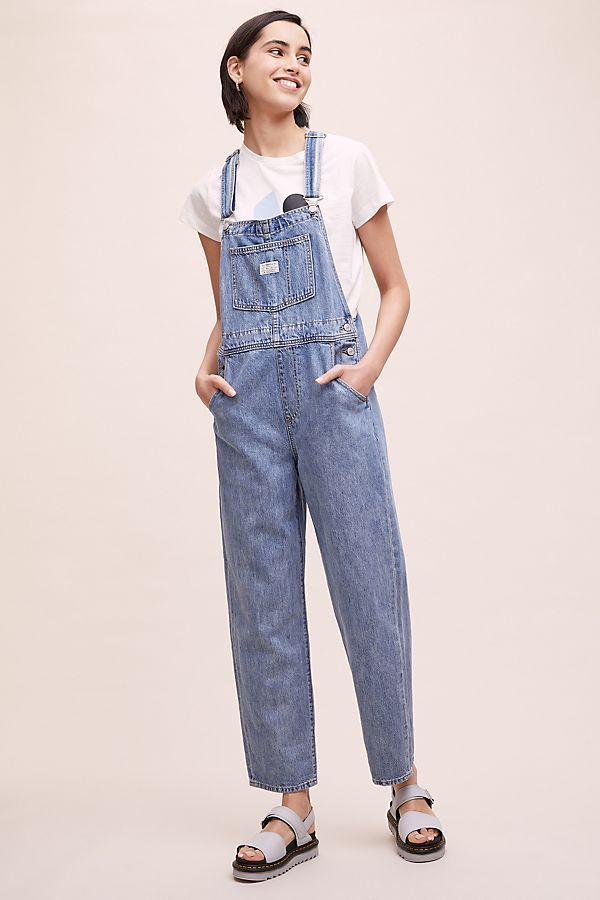 Levi S Vintage Dungarees In 2020 Dungarees Dungarees Outfits Vintage Levis
