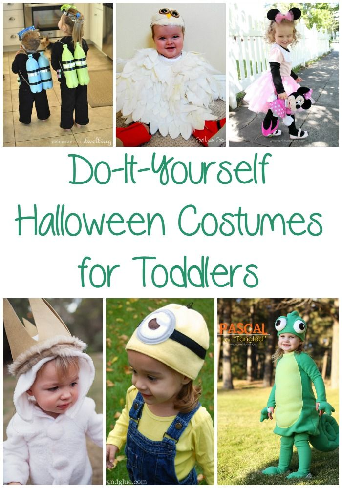 25 Easy DIY Halloween Costumes for Toddlers