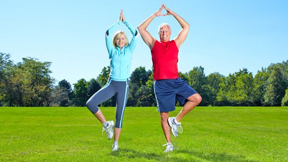 Exercises That Improve Your Balance  Now, if I can just convince my dad to do these!