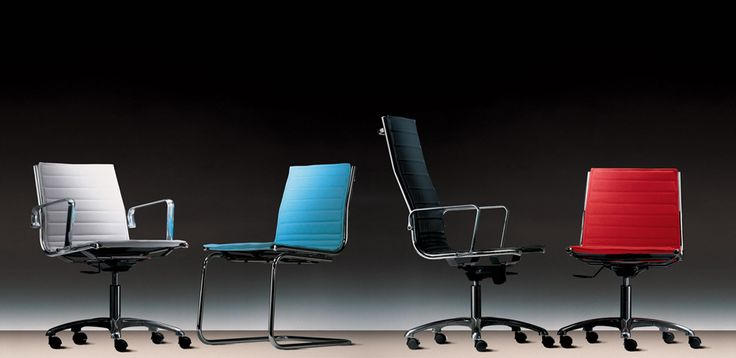 Meeting Office Chair Light by Luxy | OfficeFurnitureItaly