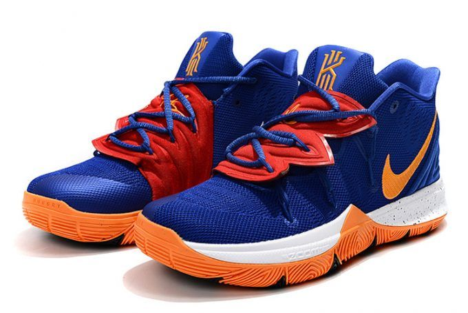 a0876445534f Nike Kyrie 5 Royal Blue Orange-White Men s Size 7-12 in 2019 ...