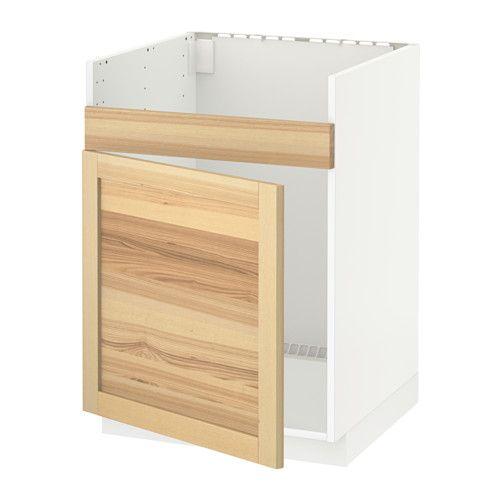 METOD Drez s jednou vaničkou DOMSJÖ IKEA Masívna konštrukcia rámu, hrubá 18 mm.