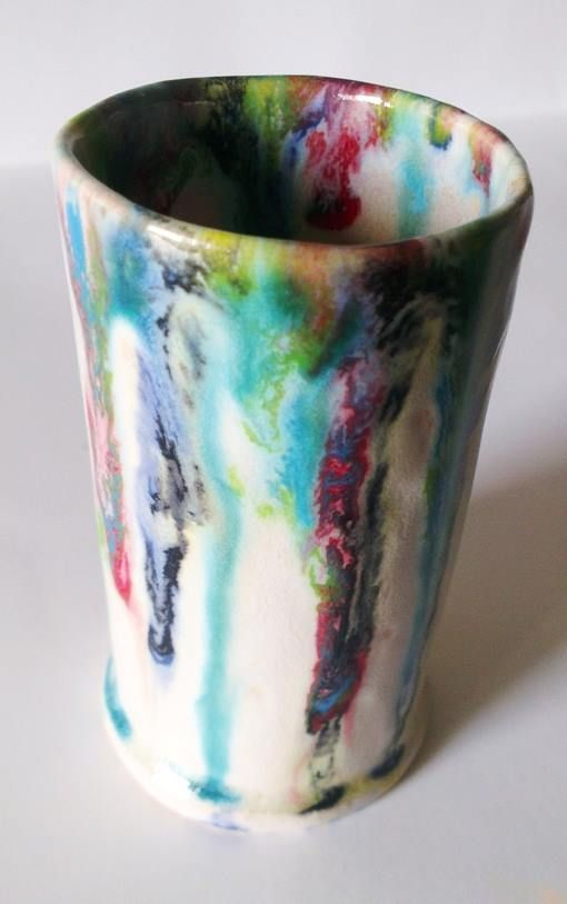 kubek, kubki Piekarnia sztuki - Krystyna Nicz #ceramika #handmade #ceramic #pottery