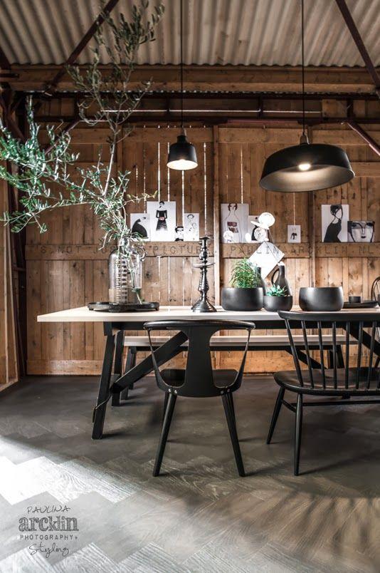 Styling: Cleo Scheulderman @vtwonen.nl It's my visual life - Paulina Arcklin: WOONBEURS 2013 | VTWONEN BARN HOUSE