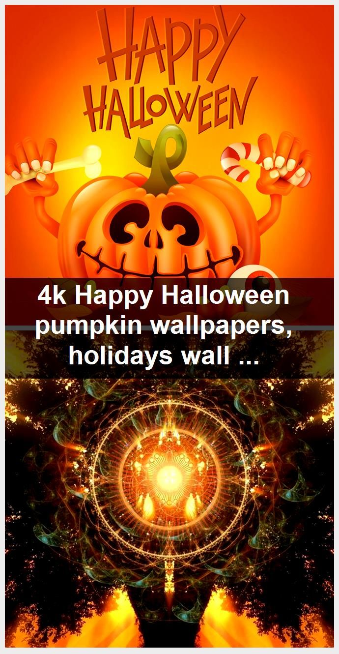 4k Happy Halloween pumpkin wallpapers, holidays wallpapers