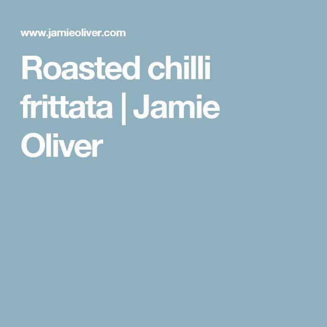 Roasted chilli frittata | Jamie Oliver