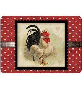 The Rooster Comfort Kitchen Mat Offers Simple Convenience And Style To Your  Household Kitchen. The